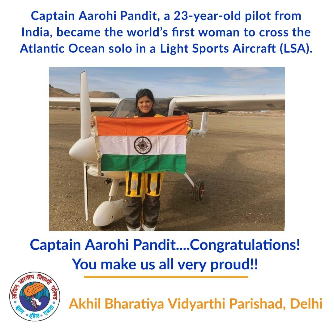 ABVP Delhi's tweet -