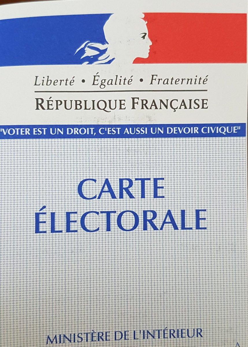 je n ai pas recu ma carte electorale Nicolas LEFEVERE on Twitter: