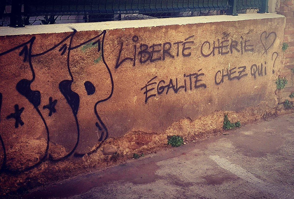 Legitimate question. #libertecherie #streetstatement #france #Perpignan