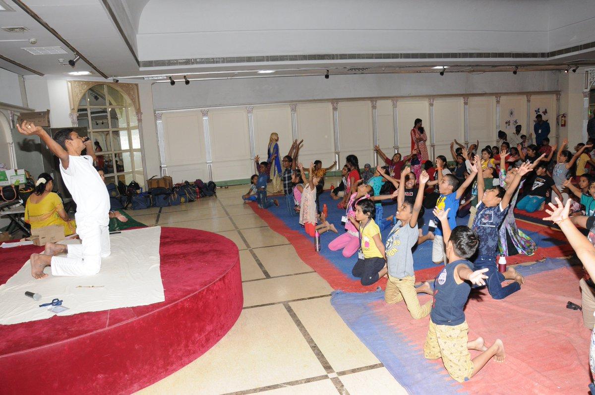 Summer Art Camp-16th May 2019 ! Yoga followed by art and craft by children #summerartcamp #summervacation #artbykids