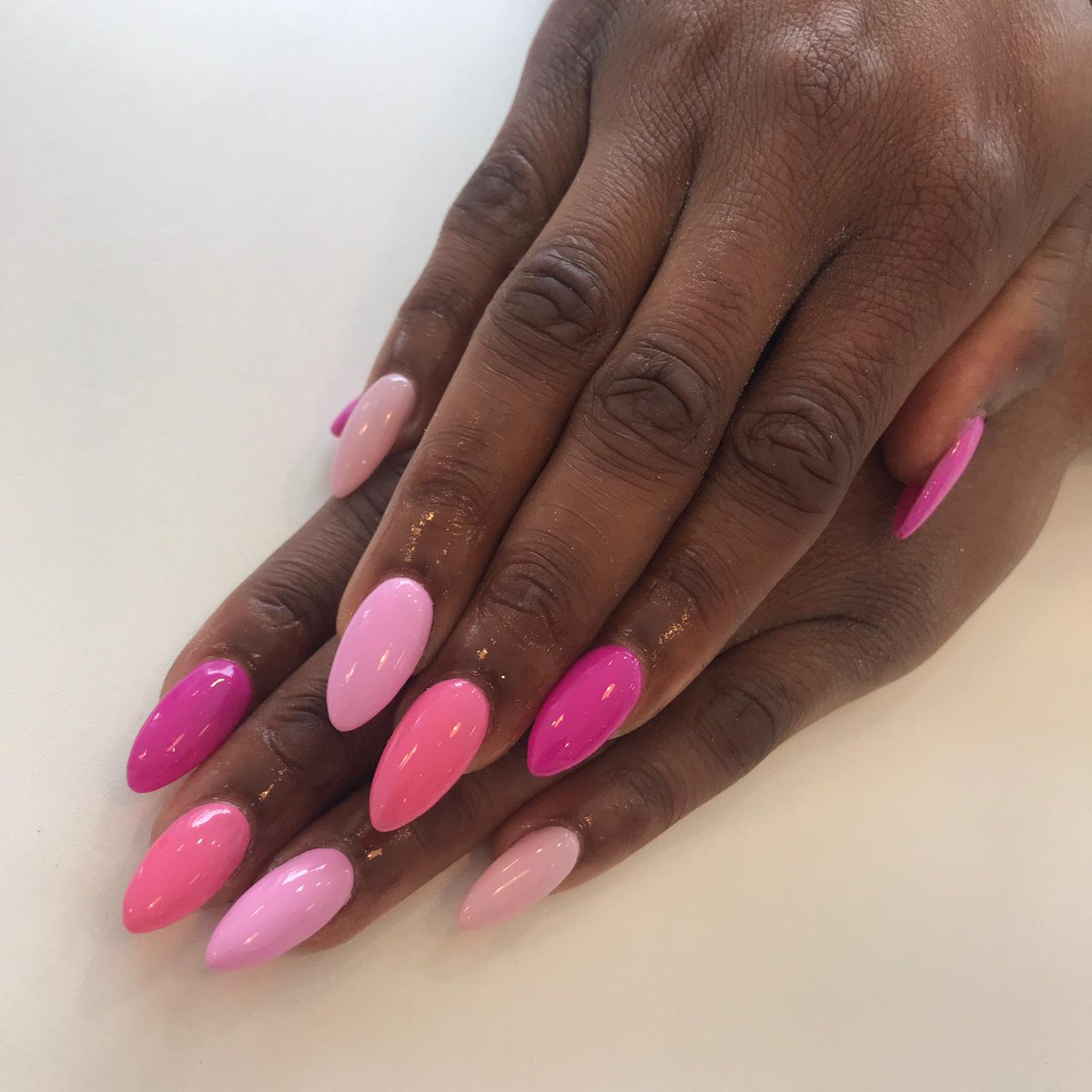 All Different Shades Of Pink Acrylic Nails Nail And Manicure Trends