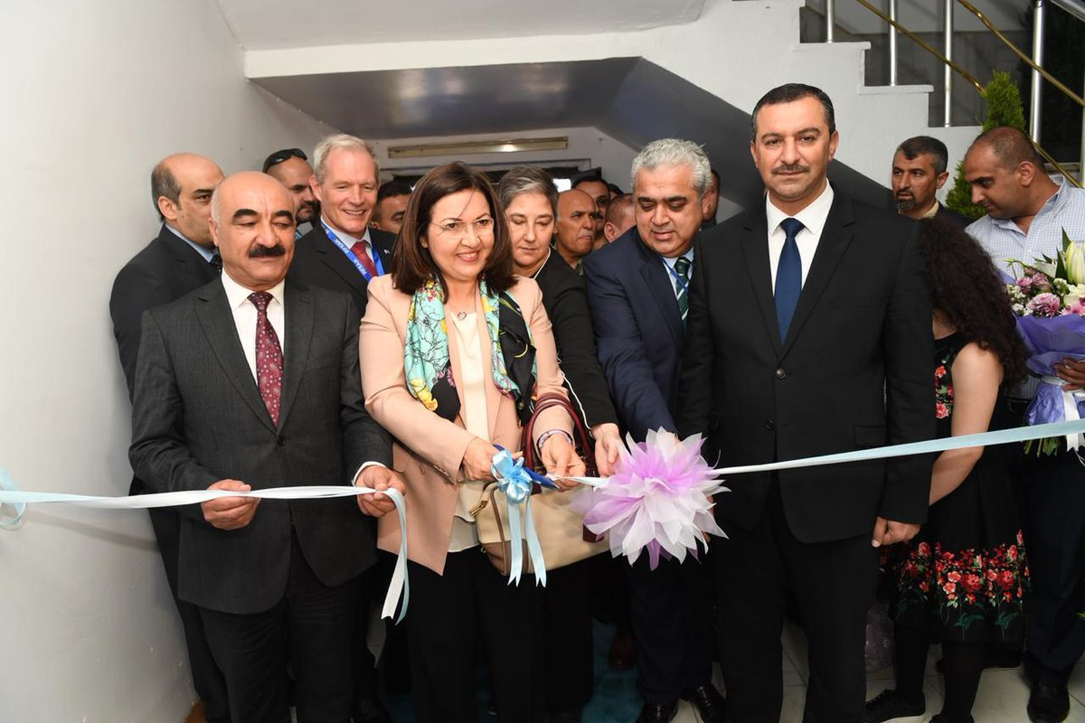 On 15 May, the Food and Agriculture Organization of the United Nations, inaugurated its new office in Sulaymaniya under the patronage of the First Lady of #Iraq - Ms. Serbagh Saleh 👉https://bit.ly/2HAeCSK 📷Courtesy of @Sarbagh and @NRT_English
