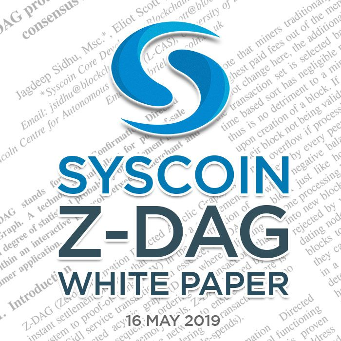 Tweet by @syscoin