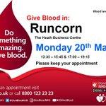 Image for the Tweet beginning: Do something amazing. Give blood
