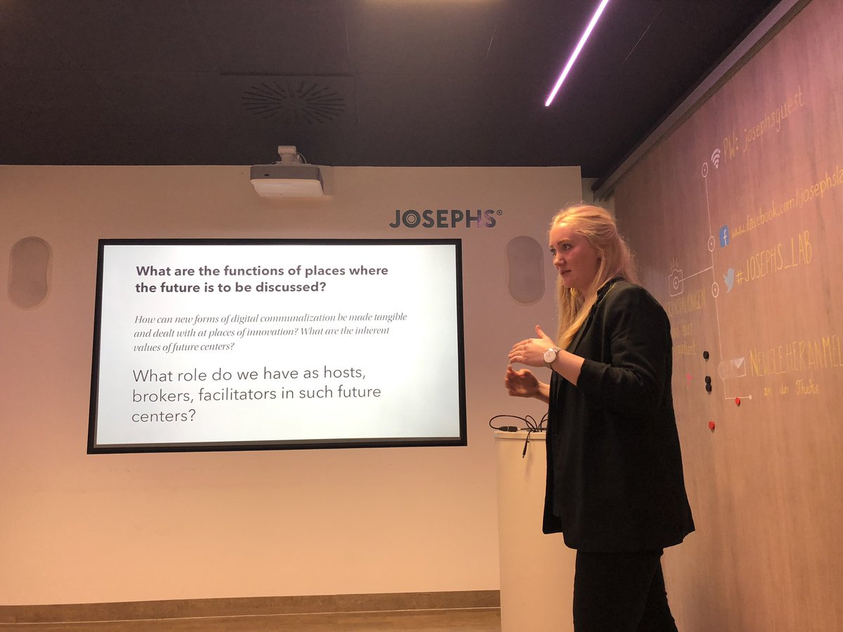 test Twitter Media - Inspiring talk by @frankaellen asking questions on how and where we will shape the future. Any answers anyone? #future #innovation https://t.co/5U2eOatIu4