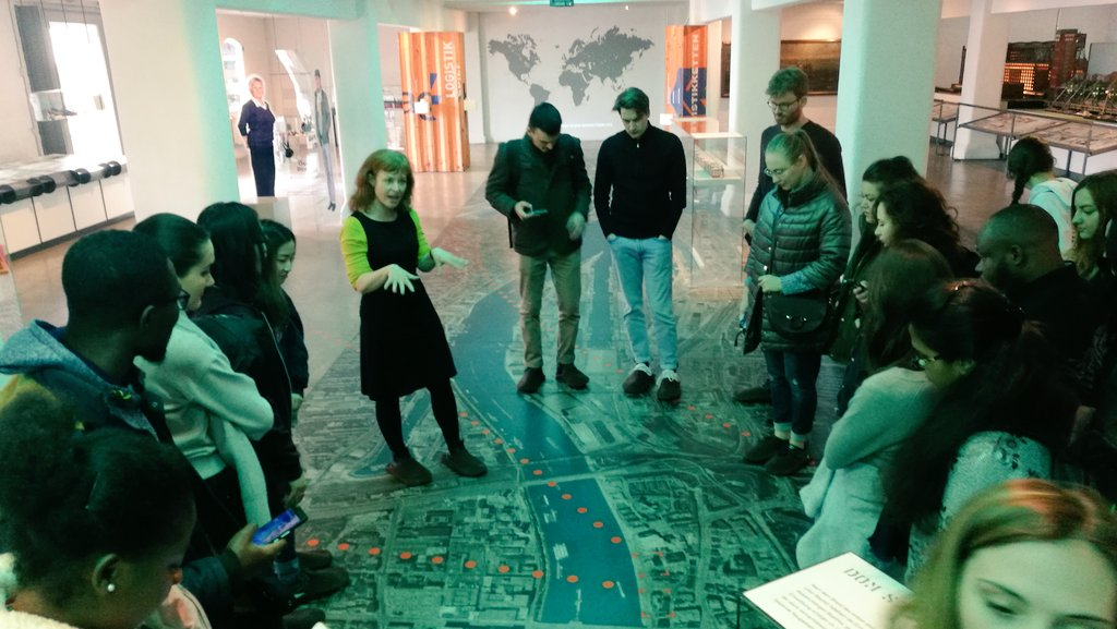 test Twitter Media - Today, my #IPE seminar @UniBremen swapped class room for a visit at #Bremen|s #habor museum to explore local traces of the #globaleconomy. Making your students relate academic discussions to the daily life outside uni works pretty well! #teaching #powilehre @InIIS_Bremen https://t.co/4hX0efPts5