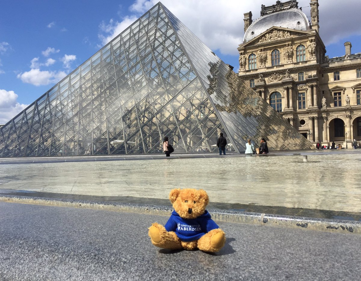 From Paris to Berlin we go! Our wee traveller made some more stops along the way. We had another fantastic evening with our alumni and we've made some great new connections with the @ScotGovFrance @ScotDevInt and @BritishCouncil! #Abdnfamily #Abdn2Europe