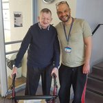 One of our Residents has been attending the Burnside Centre for many years & this still contiues in his later years. Strong friendships are made & these can last a lifetime 😍 #ageingwell #sunnyafternoon