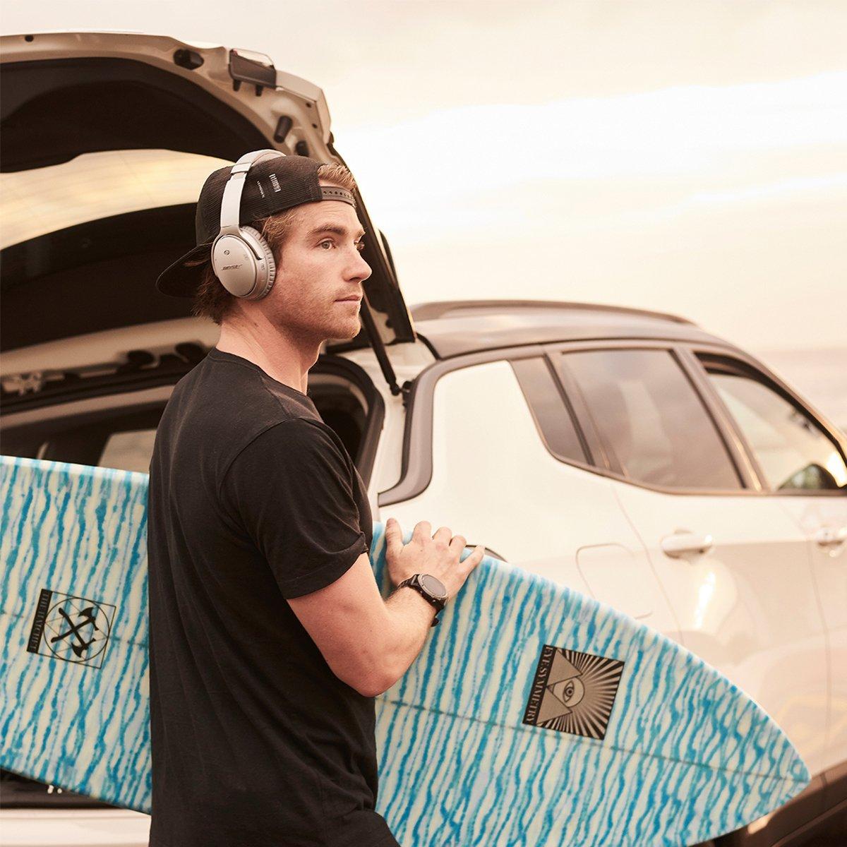 Ride the music. Ride the waves. #SurfsUp  #QC35 II https://bose.life/2YitAU0   📸: @hayden_quinn