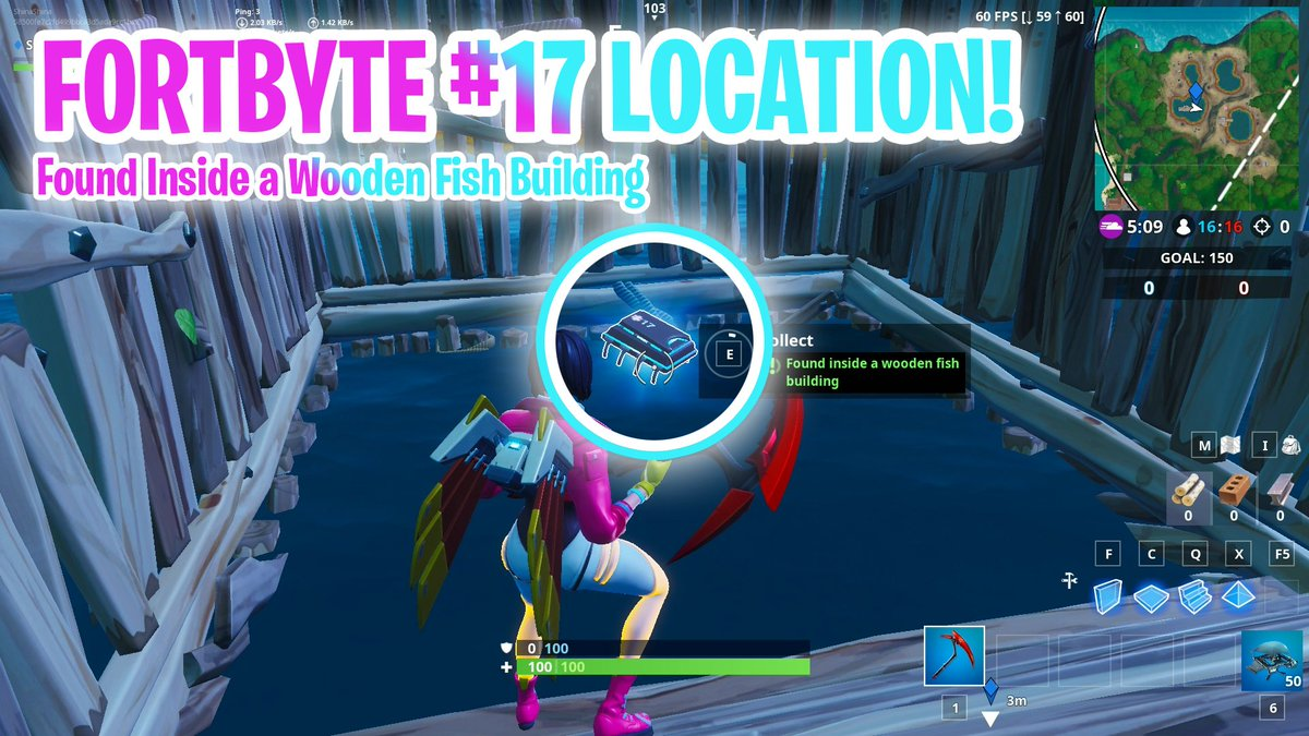 Shiinabr Fortnite Leaks On Twitter Fortbyte 17 Location Found