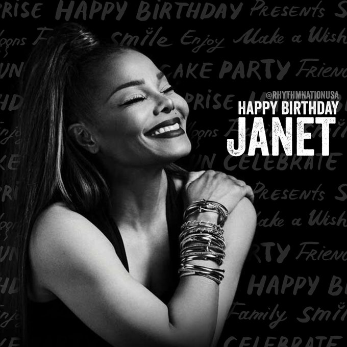 Happy Birthday, Janet Jackson