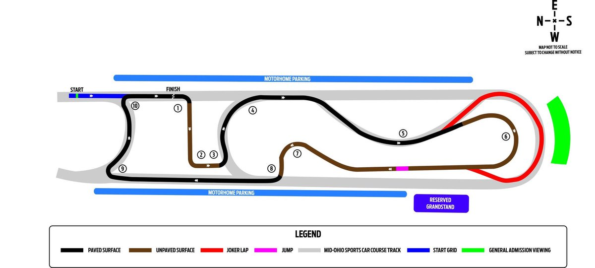 Did you see the @ARXRallycross track layout for @Mid_Ohio? If not, here it is! midohio.com/info/facilitym… #TeamCooperTire #ARX #rallycross