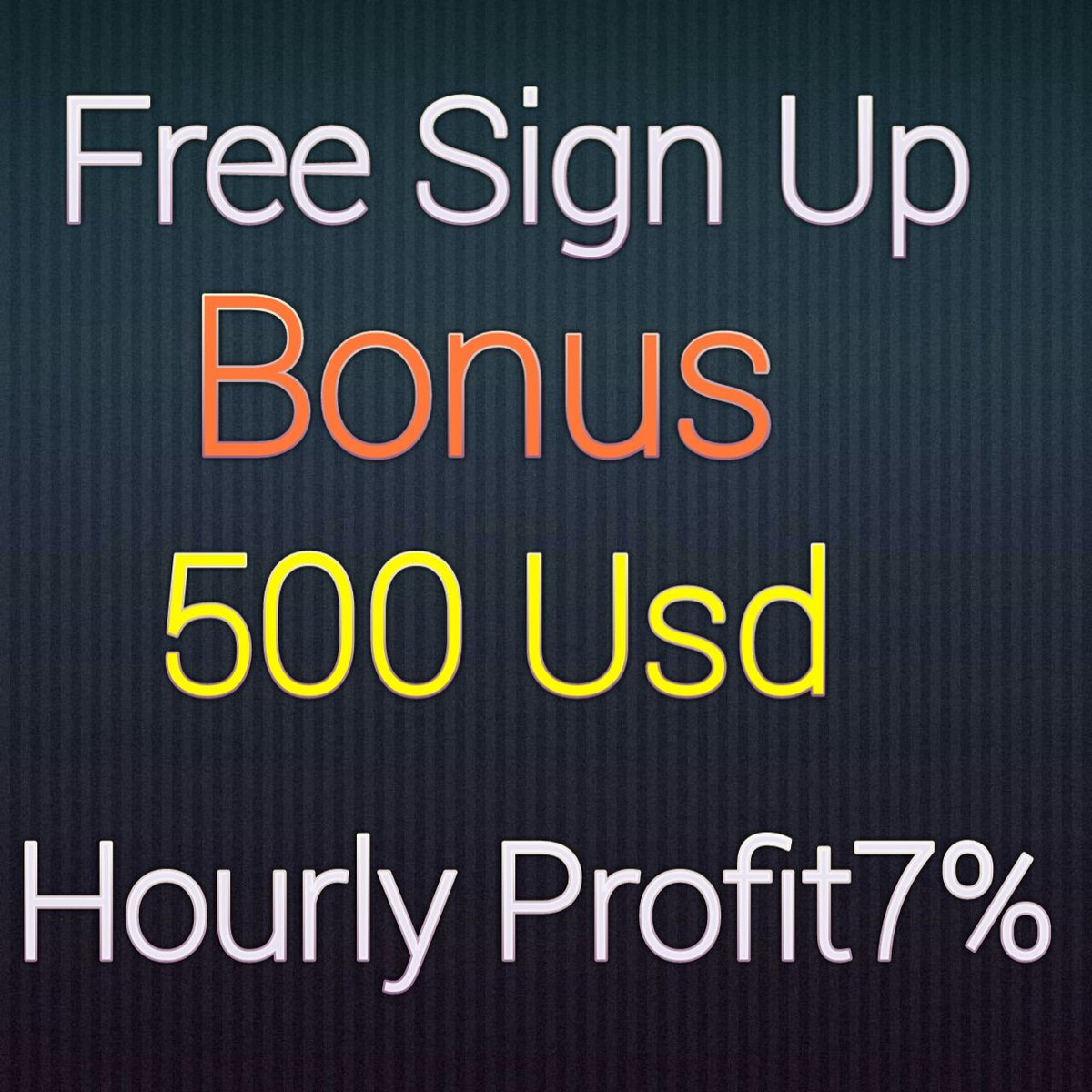 Bonus jump 10 USD to 500 USD😘😘😘😘😘  https://t.co/SN9kFDB3Os https://t.co/Xf2aZJb2To