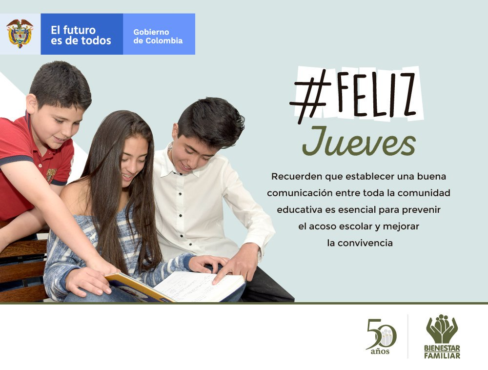 Bienestar Familiar's photo on #FelizJueves