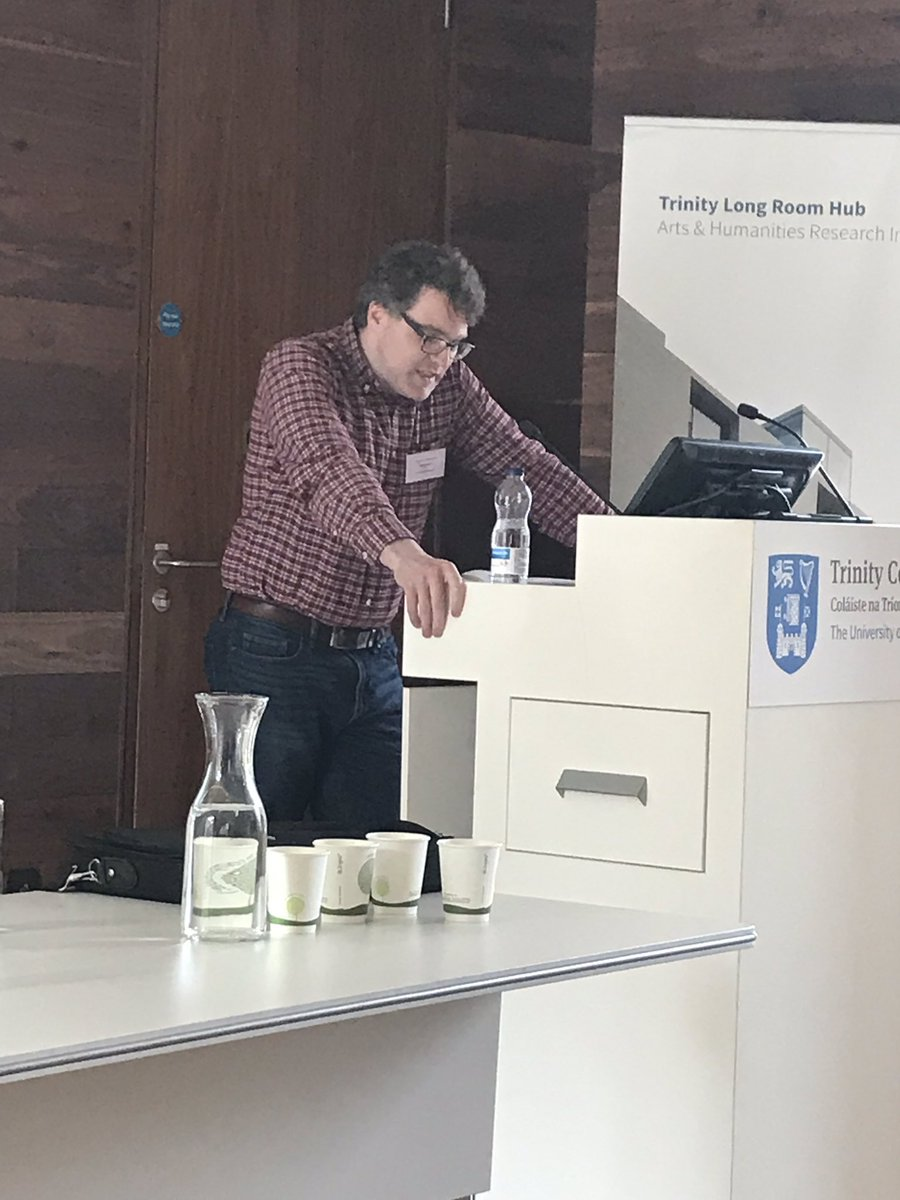 test Twitter Media - RT @TLRH_Conf_2019: Mícheál Hoyne of @SCSLibrary speaking to us now about merchants and monkeys! https://t.co/1vE8HXO7bp
