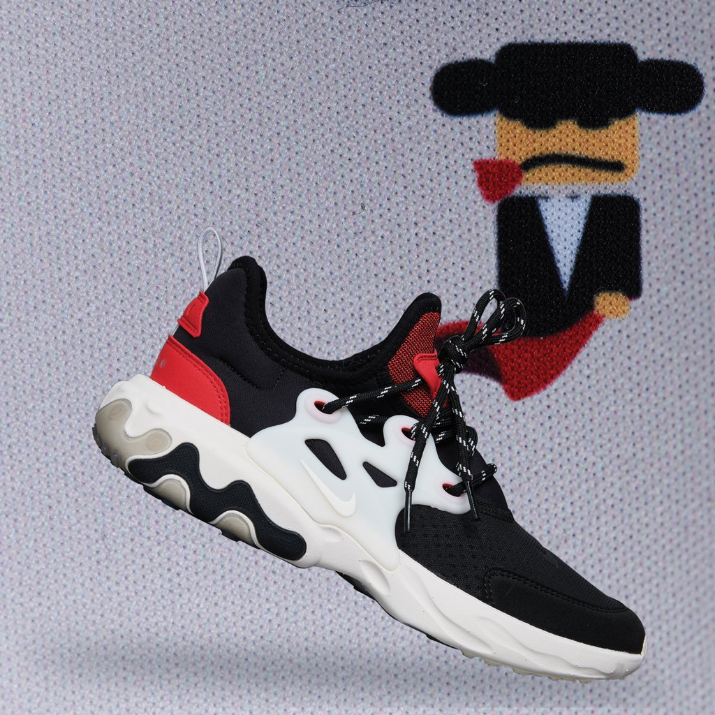 "1af899c2a4dd The Nike React Presto ""Chatty Matador"" is available now in grade school  sizes"