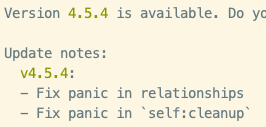 This is amazing! The new update of the symfony tool is going to fix your whole life.