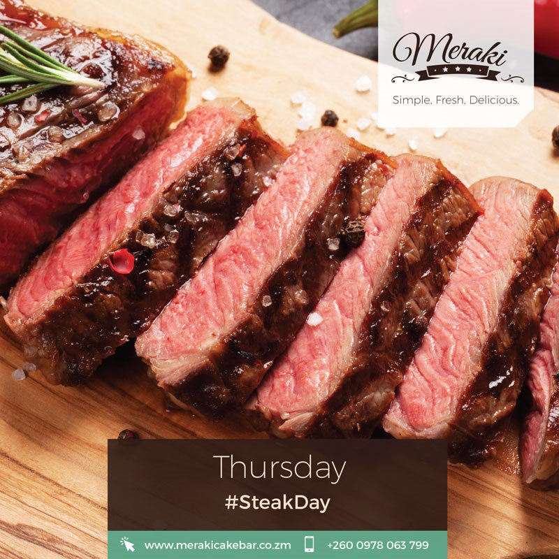 Got beef with someone? Calm down and let us handle your beef, how do you like it well done or medium rare? #MerakiCakeBar #SteakDay <br>http://pic.twitter.com/JF5myXQx52