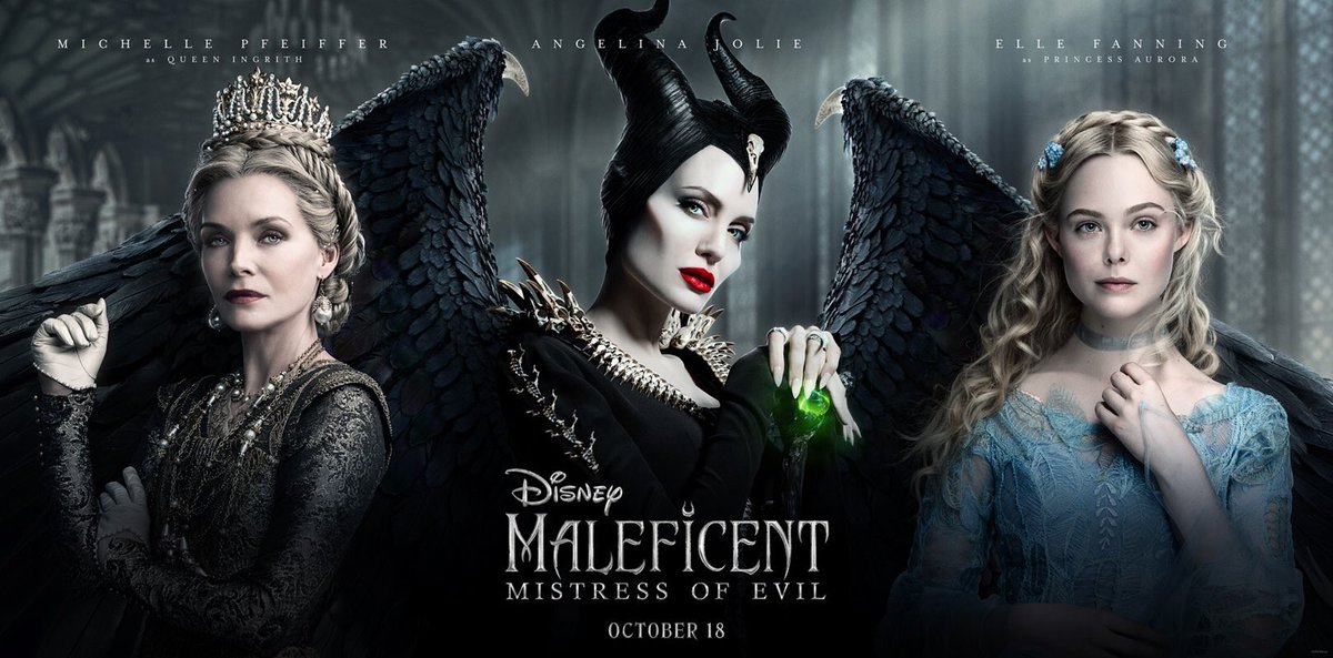 New poster of Maleficent: Mistress of Evil<br>http://pic.twitter.com/ADIWr10WVN
