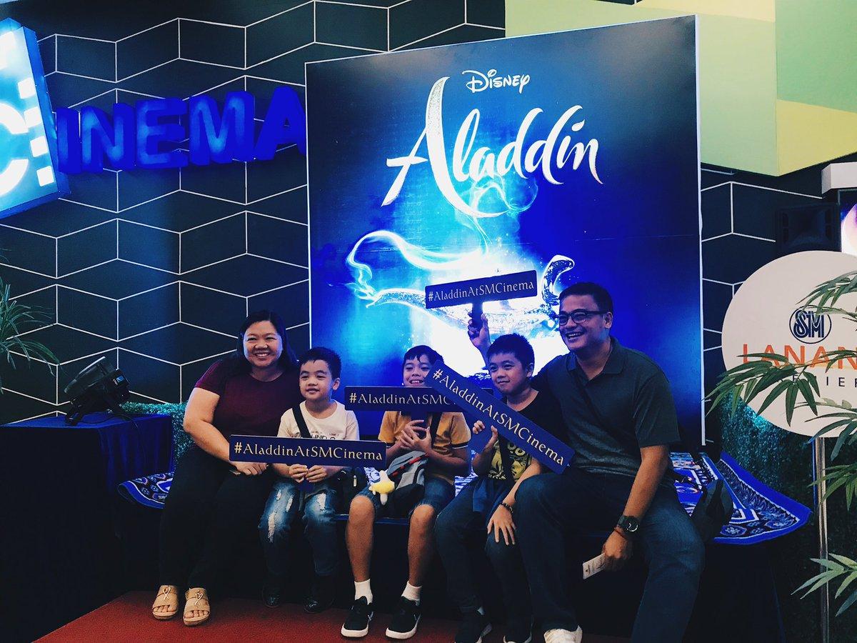 #AladdinAtSM Special Screening at SM Lanang Premier https://t.co/l8vng1C9CA