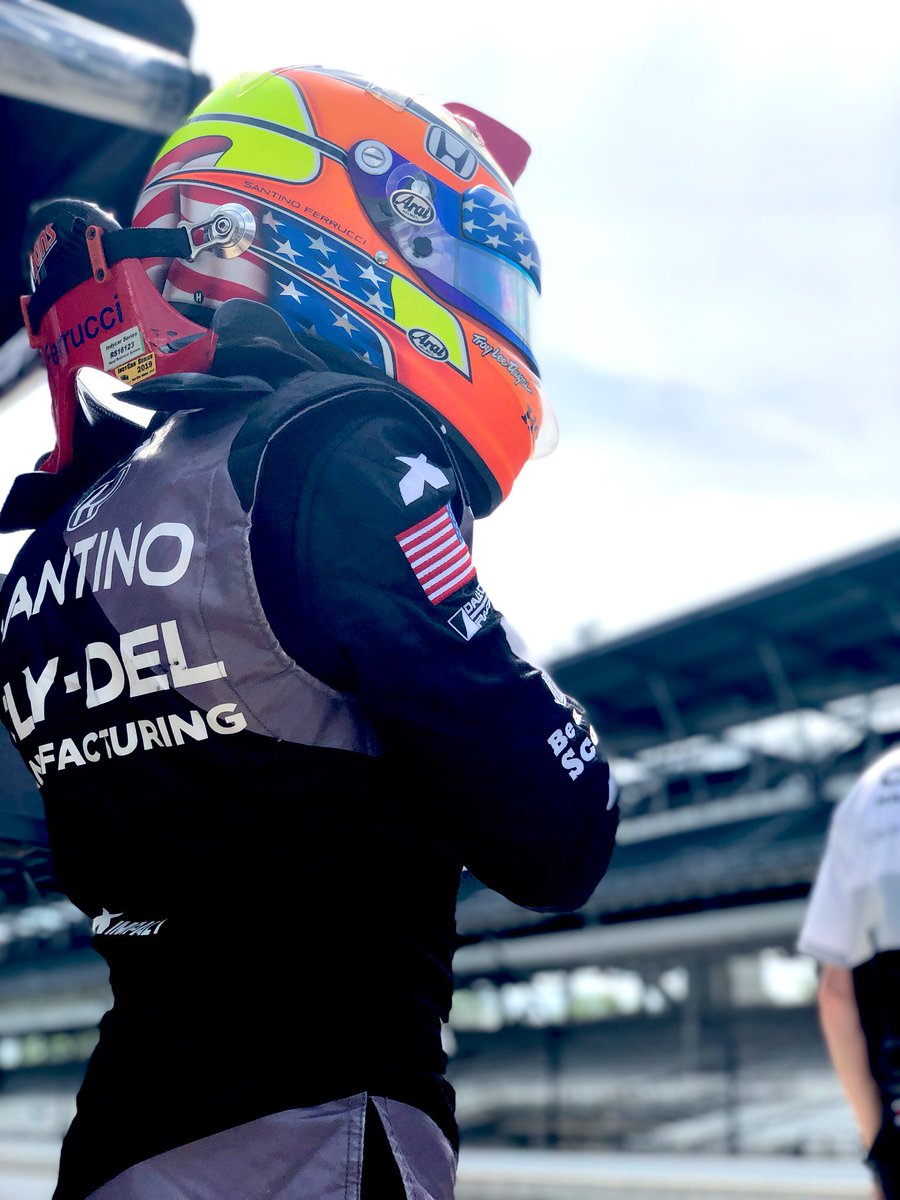 Day 3 at @IMS ‼️ See all of the action on @NBCSportsGold from 11AM-6PM @IndyCar | #INDY500 | #ThisisMay