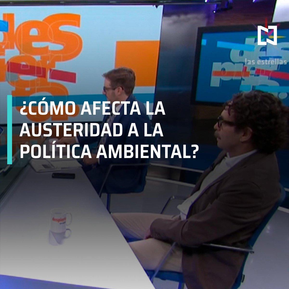 En la mesa de #DespiertaConLoret con @CarlosLoret, Gabriel Quadri y Hernán Gómez debaten sobre la austeridad del Gobierno Federal en la política ambiental.