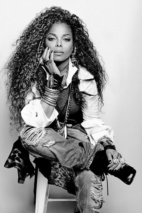 Happy Birthday to the incredible Janet Jackson. Today she turns 53 years old