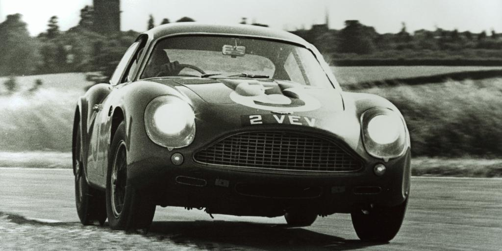 A truly beautiful piece of art. The DB4 GT Zagato is widely considered one of the most beautiful cars ever produced, even when it was racing.  #LeMans24 #Zagato #AstonMartin