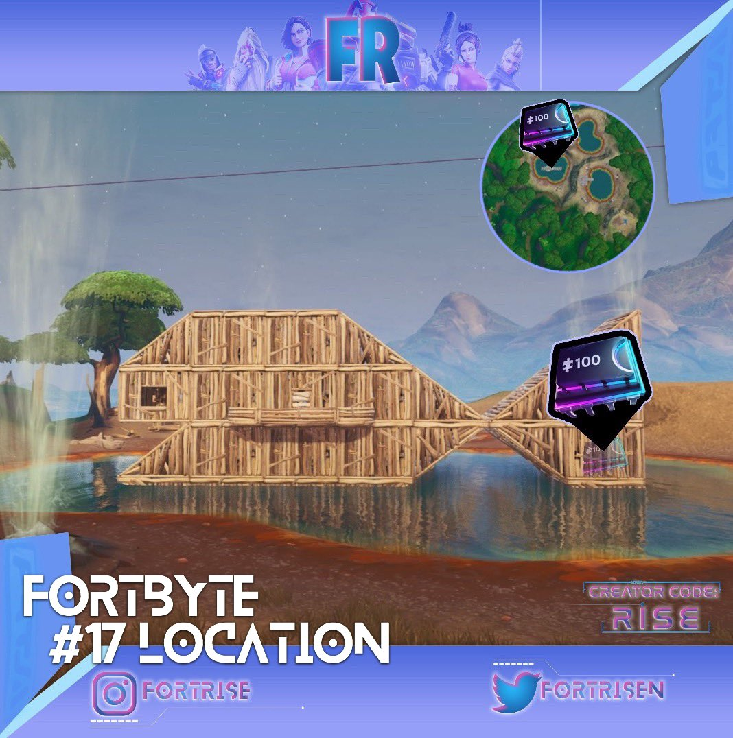 Rise On Twitter Heres Where To Find The Fortbyte 17 Found
