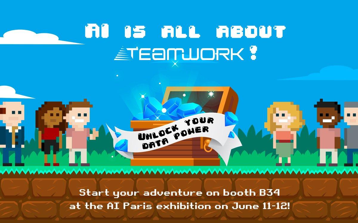 Image for the Tweet beginning: ⏰ SAVE THE DATE...Salon @AI_PARIS_