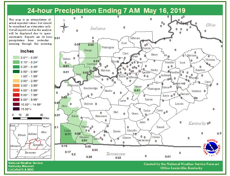 24 hour rainfall through Thursday morning. #lmkwx #kywx #inwx