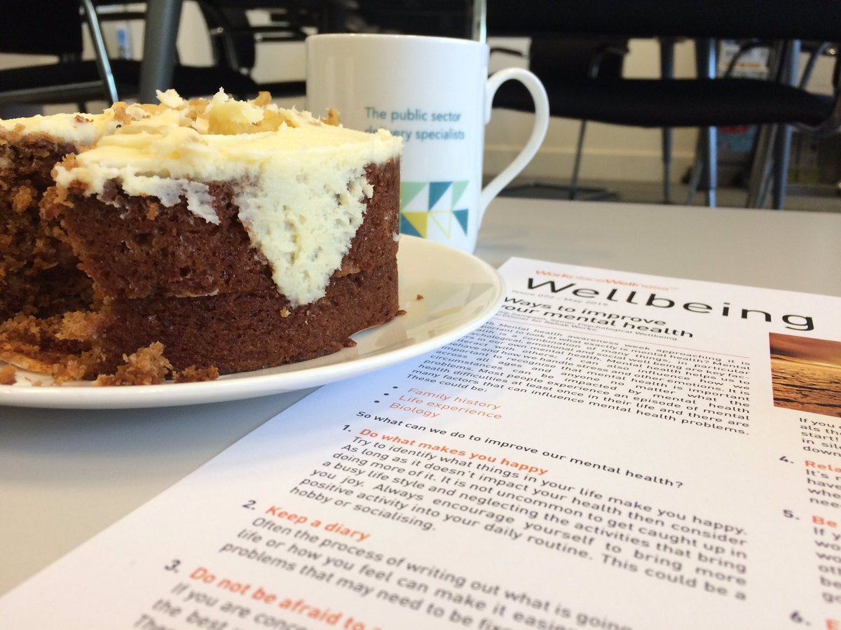 Wait... did somebody say cake?!  We're commemorating this #MentalHealthAwarenessWeek with cuppas, conversations and a little bit (a lot) of frosting.  Have a break, eat some cake, just please don't suffer in silence 🍰   #MentalHealth #ThursdayThoughts