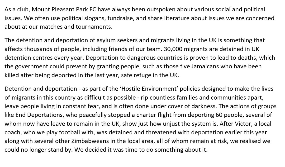 We're playing football outside the Home Office in Sheffield right now to demand an end to detention and deportation of asylum seekers and migrants. Please see retweet our statement @wallsmustfall @EDeportations #TheseWallsMustFall #enddeportations #RefugeesWelcome #noborders