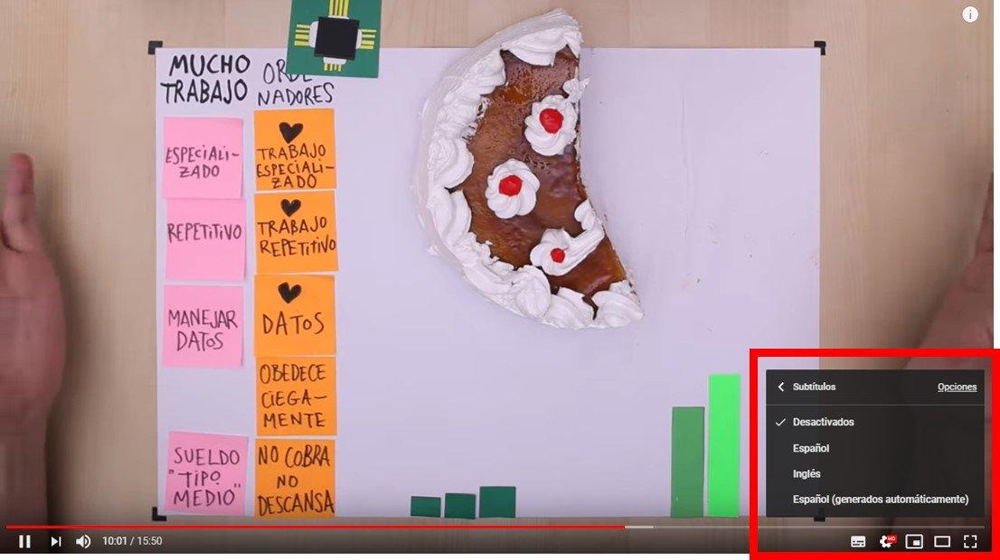 El documental #MiEmpleoMiFuturo ya se puede ver con subtítulos en castellano y en inglés desde nuestro canal de Youtube. *Recuerda seleccionar los subtítulos según te indicamos en la imagen 👇  📺1º parte: https://youtu.be/htAnVeMtrr8 📺2º parte: https://youtu.be/-z5z8aGRSQ0
