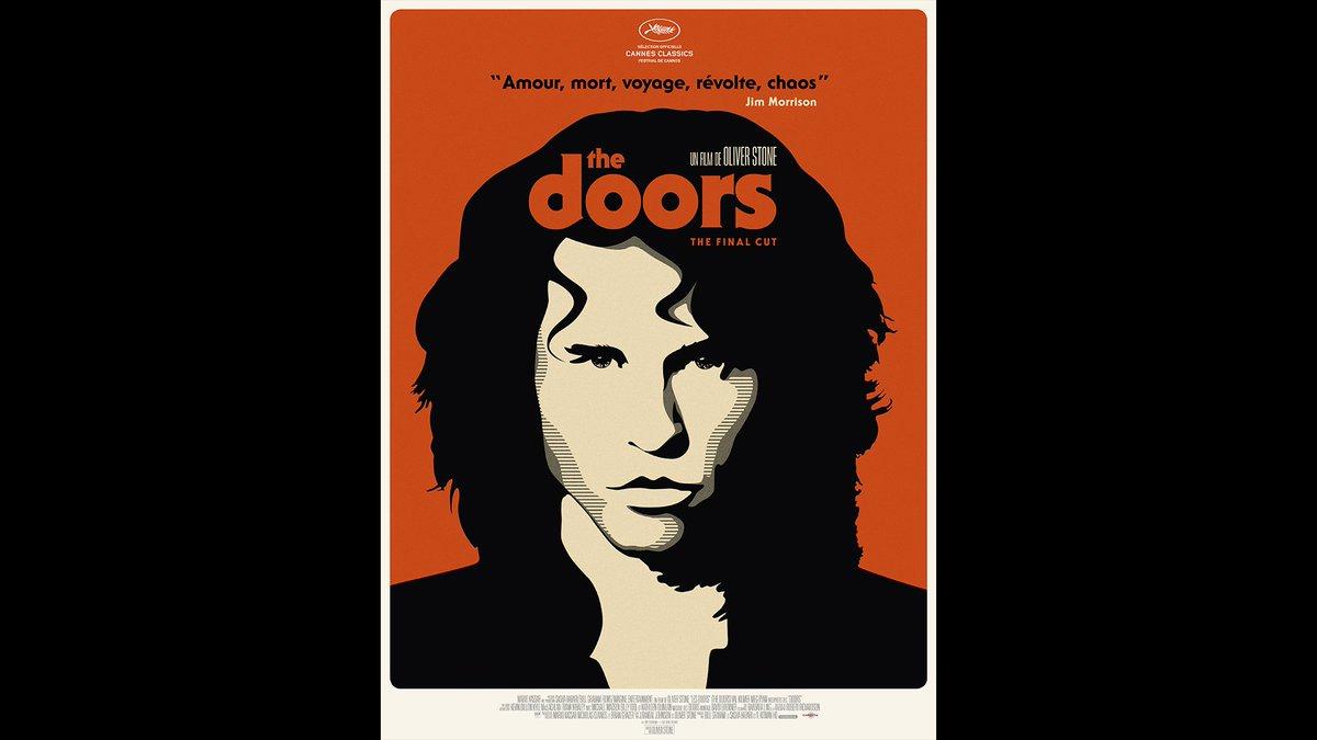 #TheDoors (1991) de @TheOliverStone. Projection en version restaurée 4K Dolby Atmos demain soir au #Cinemadelaplage @Festival_Cannes #CannesClassics Au cinéma le 26 juin avec @CarlottaFilms et en 4K/Blu-ray le 10 juillet #StudiocanalCatalogue #OliverStone