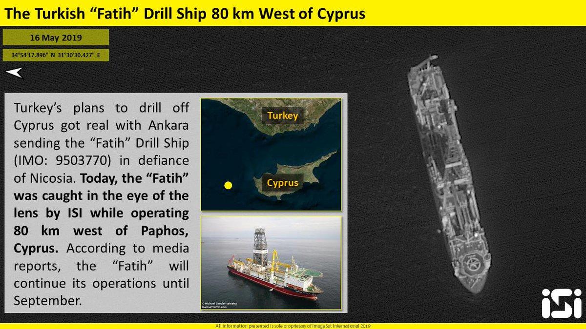 """قبرص تتهم تركيا بتبني """"دبلوماسية السفن الحربية"""" D6soZHHWsAEJDkW"""