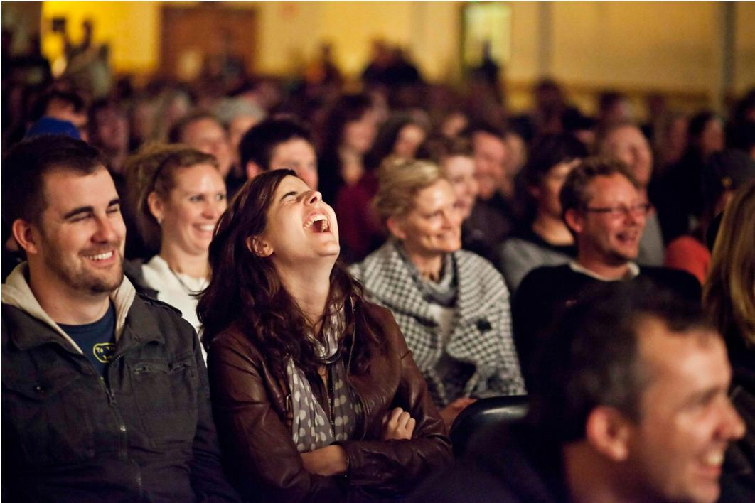 Image result for stand up comedy laugh