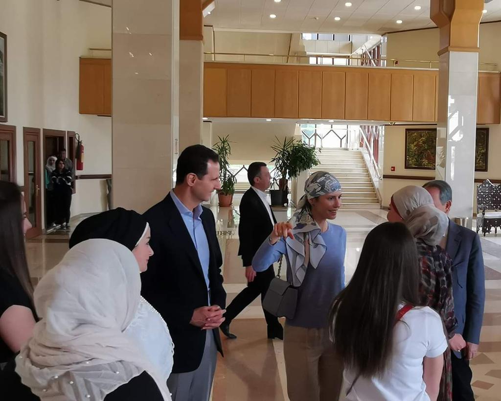 Асад в оперном театре