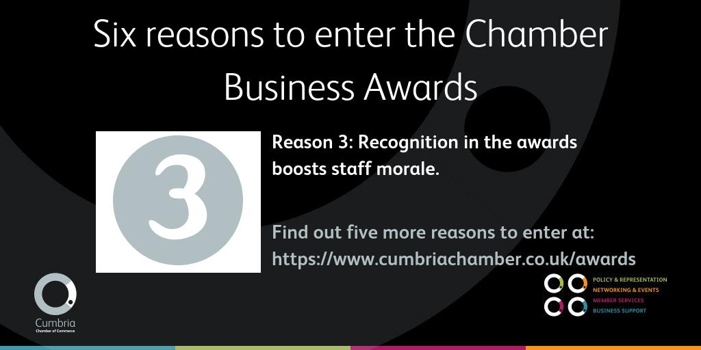 test Twitter Media - Here's reason number 3 in our series of 6 reasons to enter the Chamber Business Awards - we'd love to see some Cumbrian finalists :-) More info at https://t.co/DCDwcPxEQv https://t.co/UGc7Snzbac