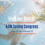 It's almost here! Come visit our booth at the A4M Spring Congress! We're excited for the opportunity to meet with & educate HCPs on the medical potential of #cannabidiol (#CBD) & other #phytocannabinoids & their benefits. #A4M #SpringCongress19 #CBDHealth #CBDBenefits #CYTOlife