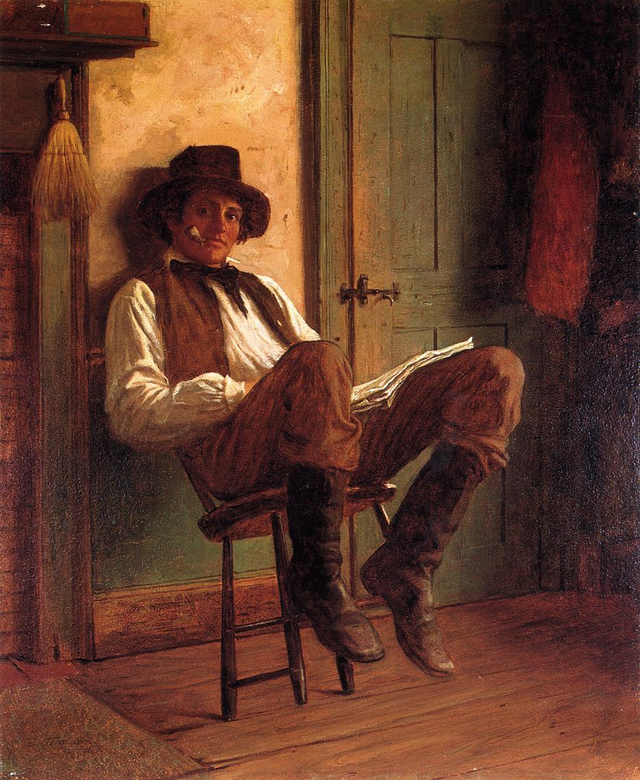 Sunday Morning, 1863 #johnson #eastmanjohnson<br>http://pic.twitter.com/EuS3h0hMOd