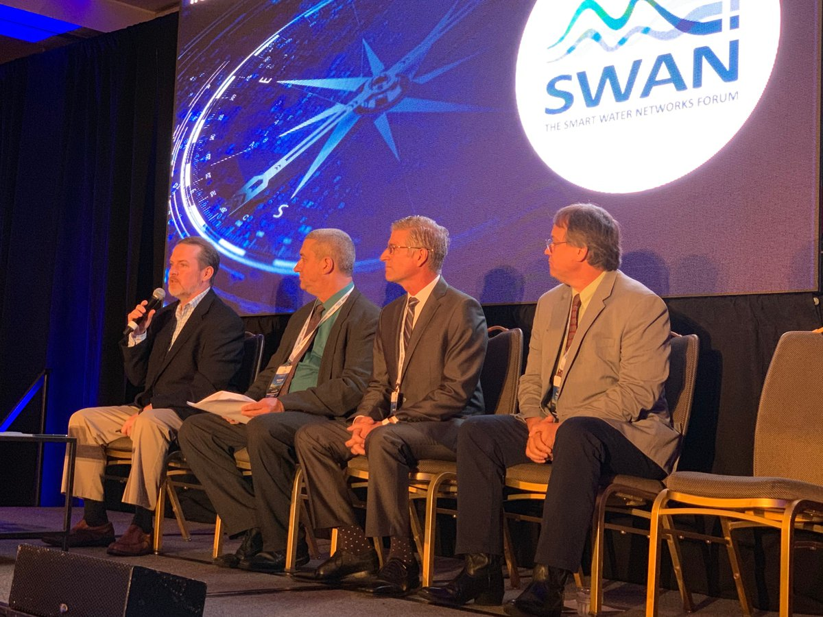 Chris Thomson @SensusGlobal joined Dave Rubin (@AclaraSolutions) and James Perry (@UtilisCorp) @Swan_forum to discuss the importance of smart leak det...