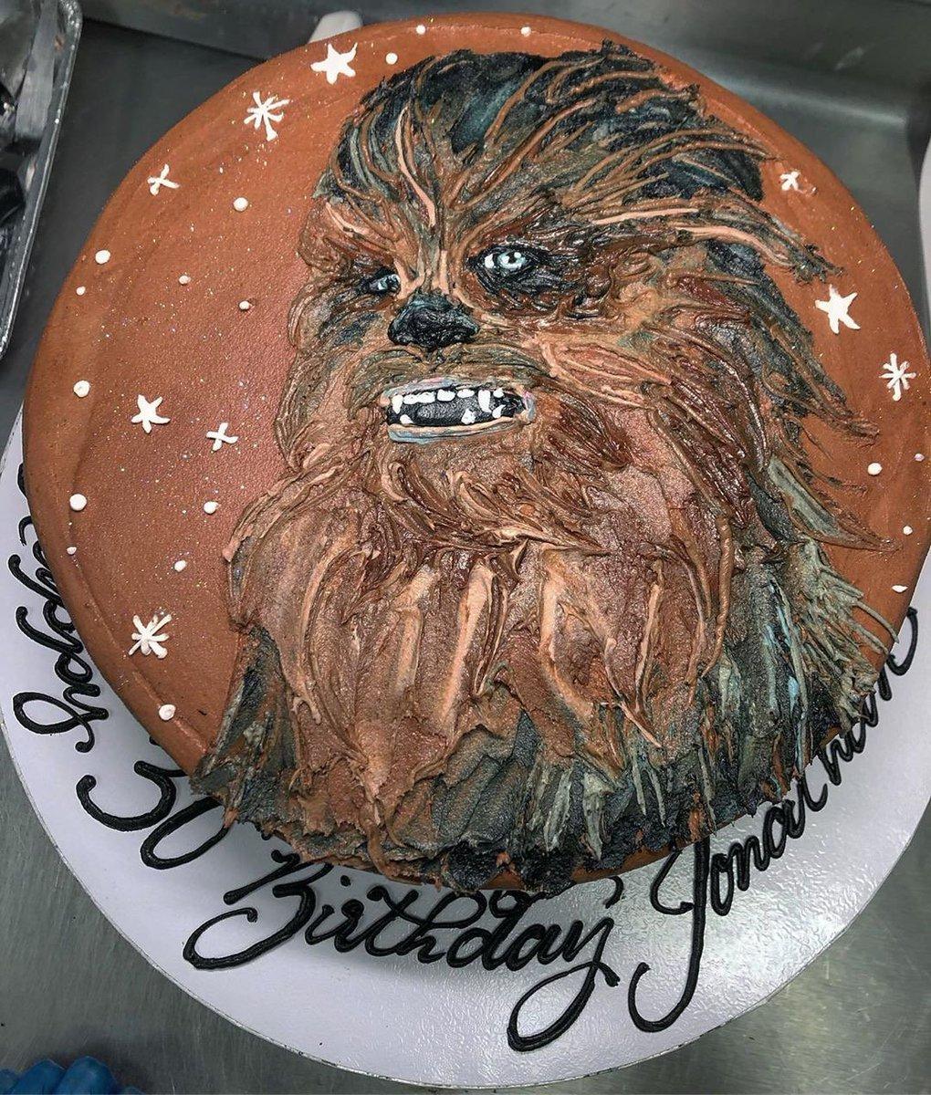 Miraculous Busken Bakery On Twitter Wookie Ng For Love In Alderaan Places Funny Birthday Cards Online Hendilapandamsfinfo