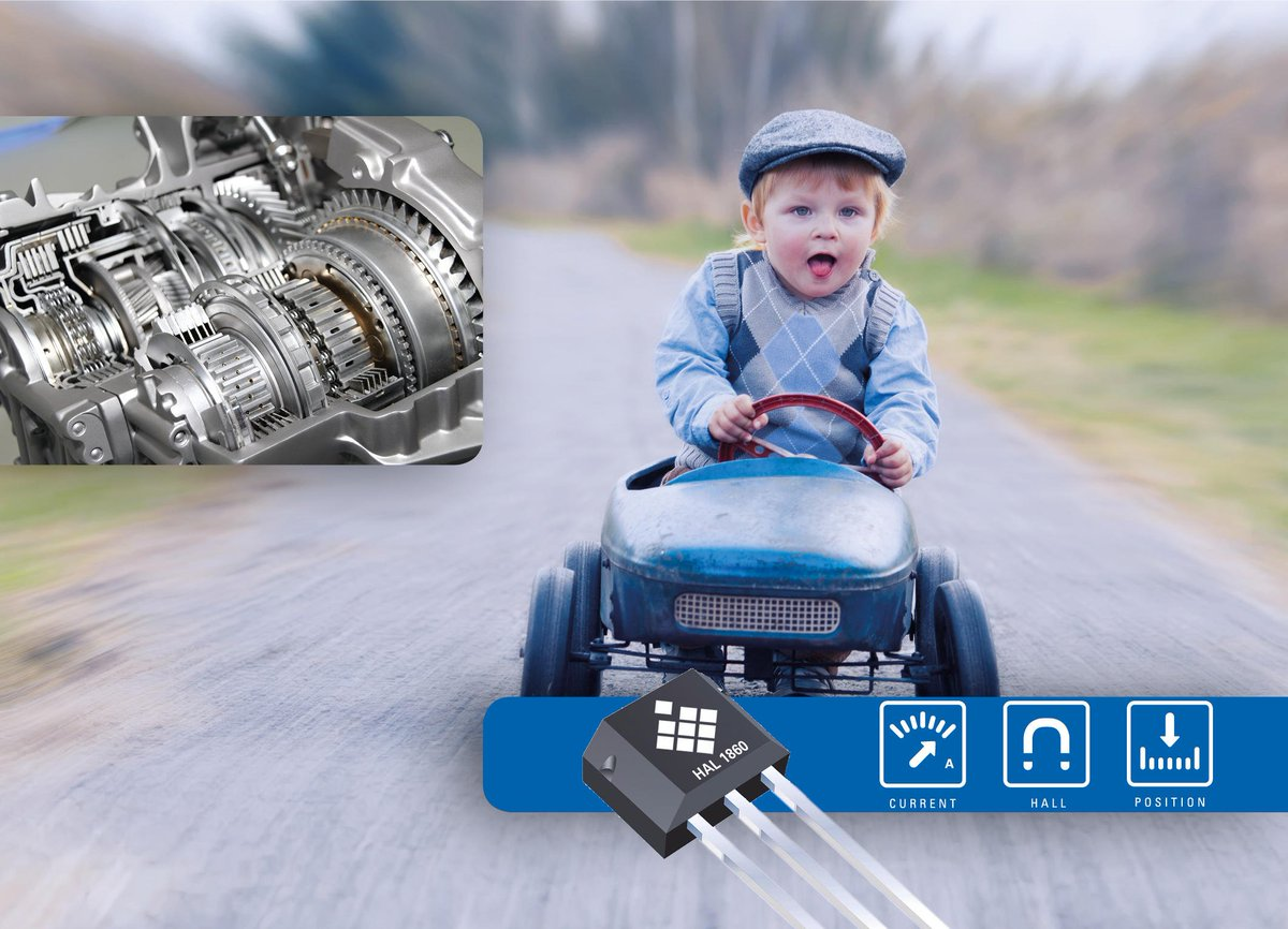 You can experience sensor technology for the #automotive #industry at @sensorplustest2019. #TDK #Micronas will show the new linear Hall sensor for detecting the gear position in the #gearbox. The speed is on at #sensortest! More Information at https://t.co/JMIeS1ylBg #vfv19 #ad