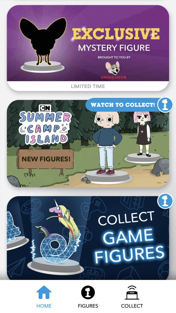 I WAS SO ANTICIPATING FOR NEW SCI FIGURES AND NOW I CAN FINALLY GET THE SUSIE FIGURE ON THE CN ARCADE APP!!!! Ima keep a lookout to finding her 😻😻#SummerCampIsland