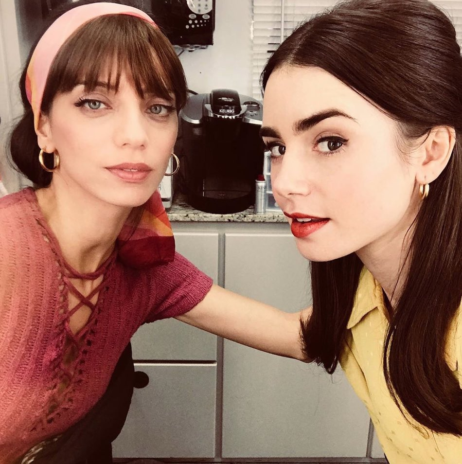 #TBT on set with my #ExtremelyWicked BFF