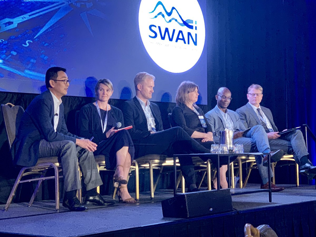Thanks to all involved in this powerful conversation. Collaboration will drive the digital transformation of water. #LetsSolveWater together! @SWAN_Fo...