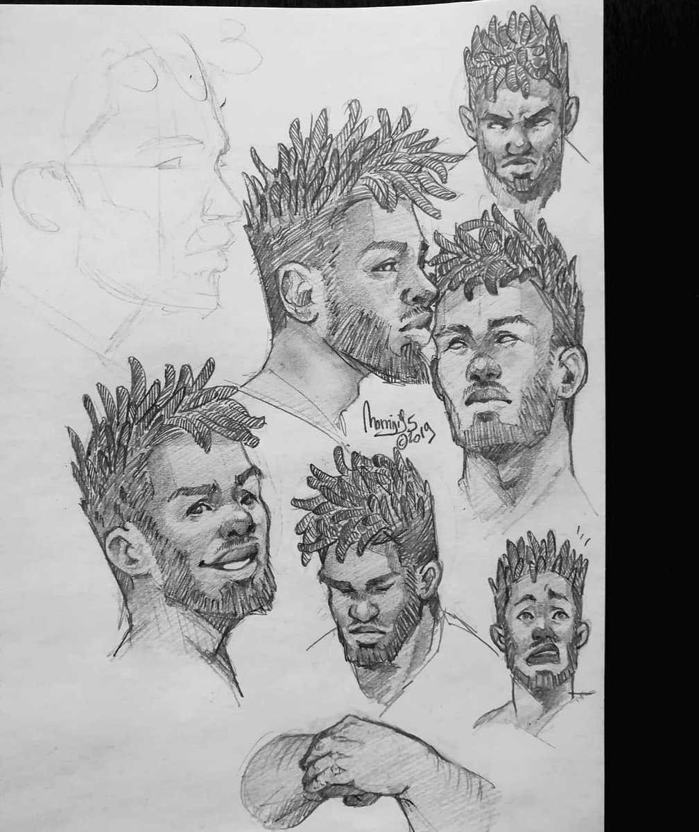 More character research! Trying to work on my own story; that is a lot of work.. Characters, world, politics, stories.. it&#39;s never ending!  #charactersketch #characterwork #characterdesign #sketch #draft #pencilstudies #pencildrawings #momiji95<br>http://pic.twitter.com/1FhWMGcur8
