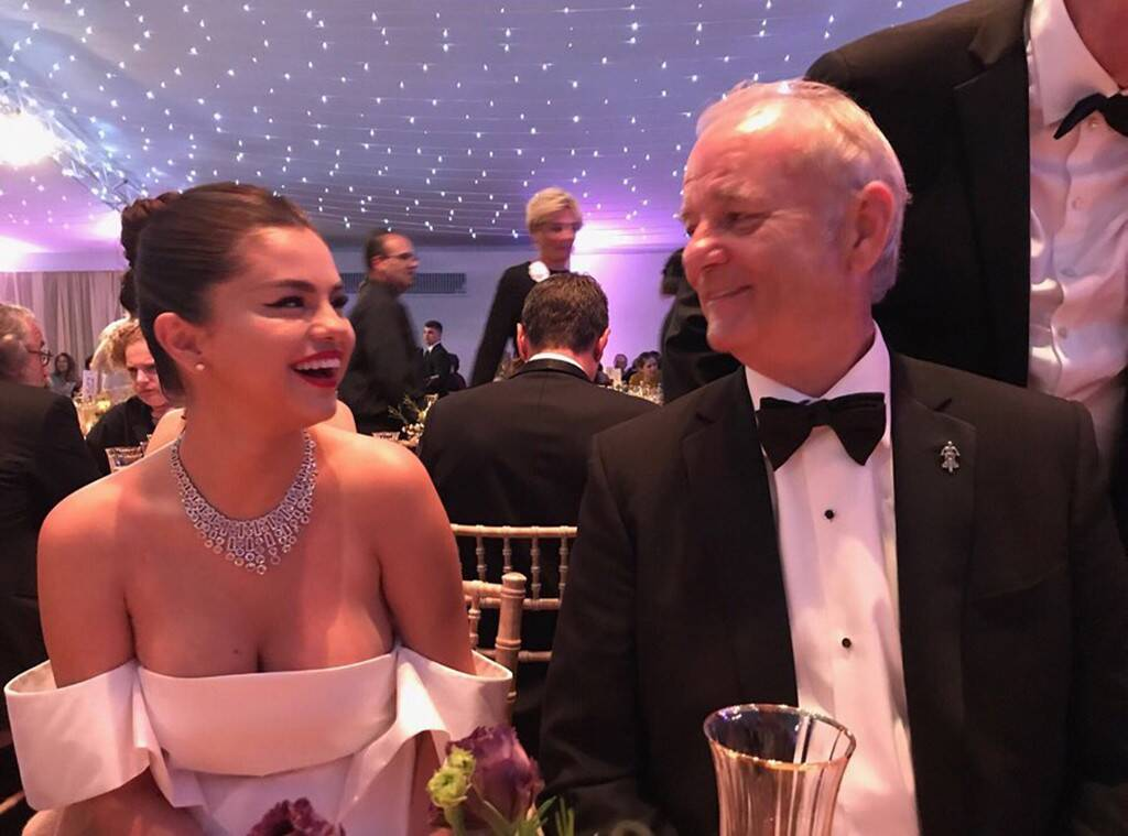 """I really like her. I mean, you still can't tell me who the hell 'Selena Gomez' is—but Gomez... I really like. She's unusually bright. She's kind and she's natural. I'm always pleased to find some kind of pop icon who I really like."" - Bill Murray https://eonli.ne/2HIuF0T"