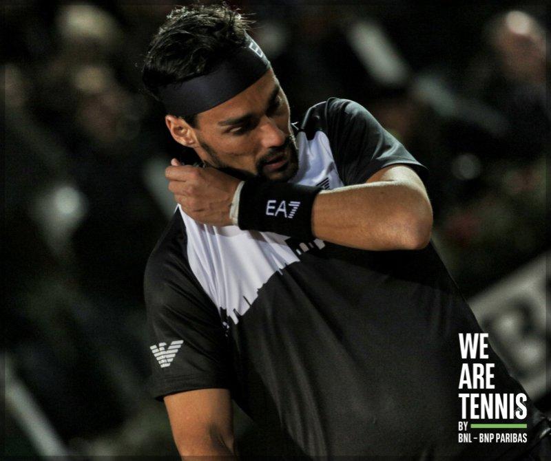We Are Tennis Italia's photo on Fognini